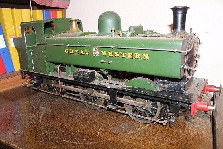 """5"""" gauge GWR pannier tank lice steam locomotive"""