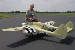 Giant scale p 61 black widow 114 giant scale rc model airplane printed