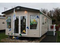 A stunning caravan at Turnberry Holiday Park sea views not Craig Tara not Southerness