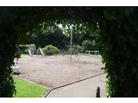 Rosneath Castle Caravan Park near Helensburgh 5 star park.