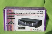 Stereo Audio/ Video Selector North Parramatta Parramatta Area Preview