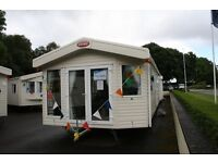 2017 model Carnaby Hainswoth 38 x 12 2 bedroom luxury holiday home. 1 hour from Glasgow at Rosneath.