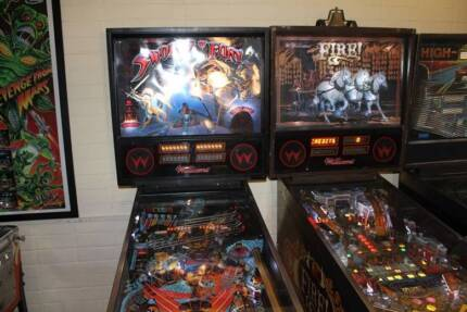 Swords of Fury and FIRE! Pinballs