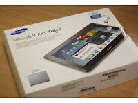 Brand NEW SEALED Box Samsung Galaxy TAB 2 White, Unlocked £85