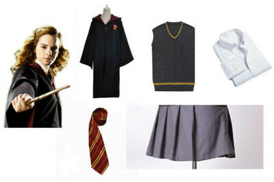 Hermione Granger Outfit (Harry Potter  Hermione Granger Costume Gryffindor School Cosplay Uniform)