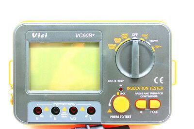 Digital Insulation Resistance Tester Megger Megohm Meter 1000 V0.12000m Vc60b