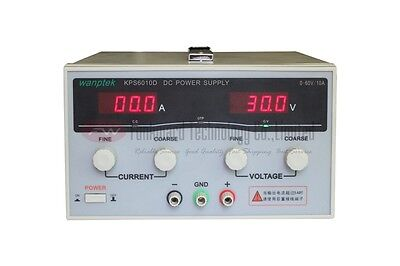 Kps6010d Adjustable High Power Switching Dc Power Supply 0-60v 0-10a Input Ac220