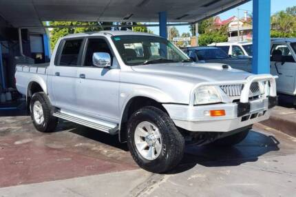 2005 Mitsubishi MK Triton GLS 4X4 2.8L turbo diesel - $10,999 Highgate Hill Brisbane South West Preview