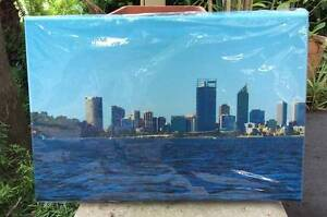 Canvas Framed Print - View of Perth from Kings Park WA Greenwood Joondalup Area Preview