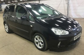 FORD C-MAX 1.8 ZETEC 5d 116 BHP 1 Previous keeper, AUX CONNECTION VERY LOW GENUINE MILEAGE