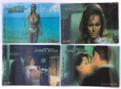 Women of James Bond in Motion Trading Cards Complete Base Set