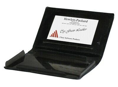 Leather Calculator black Case fits HP Series 10 b10-C, 12-C 15-C 16-C for sale  Shipping to India