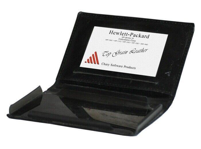 Leather Calculator black Case fits HP Series 10 b10-C, 12-C 15-C 16-C