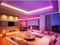 ✅⭐Philips Hue alternative Livarnolux colour LED strip 5m w/remote and 4 connect-166 lighting effects
