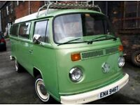 VW t2 bay camper 1978
