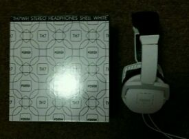 Fostex TH7 2016 edition studio headphones in white as new.