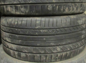 Used Tires. P255+35+19 INCH $400/2 TIRES (((85%TREAD))) Checked