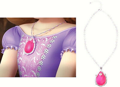 Princess Sofia The First Elena NEW Pink Amulet of Avalor Necklace. High Quality!