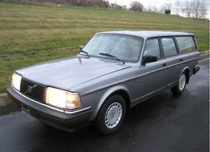 1990 Volvo 240 GL Wagon - Runs Great. Love this Car!