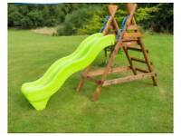 Little tikes slide and swing set