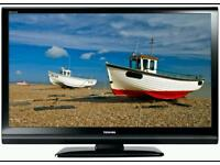 """32 """" Toshiba lcd tv full hd USB port with built-in freeview."""