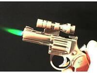 Cigarette lighter laser