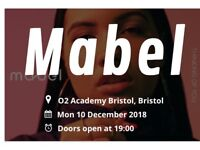 Mabel 2 x tickets ( 02 Academy Bristol) More info send me msg Monday 10th of December 2018