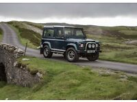 Land Rover Defender 50th Anniversary.
