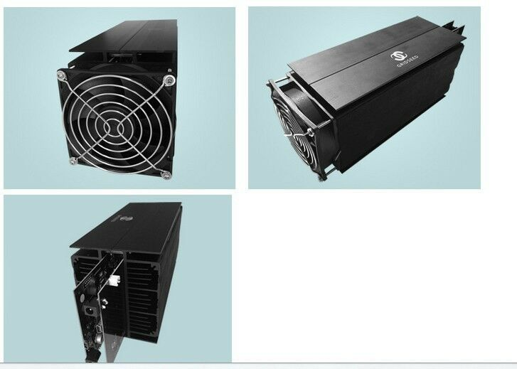 USED Gridseed LTC Miner 5.2-6MH/S 100W Litecoin Scrypt Blade ASIC Mining Machine
