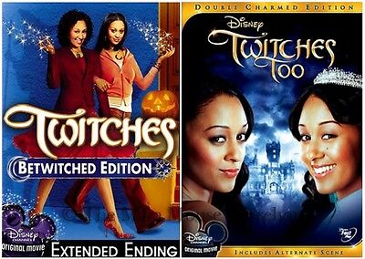 Mowry Twin Witches Disney Channel Halloween Movies Twitches & Sequel Too on DVD