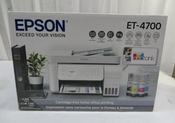 Epson EcoTank ET-4700 All-in-One Supertank Printer FREE SHIPPING IMMEDIATELY