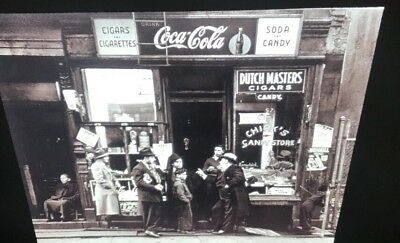 "Walter Rosenblum ""Candy Store NYC 1938""Photography 35mm Art Slide (Photo League) - Candy Store Nyc"