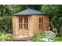 CORNER SUMMERHOUSES FROM £1,455.00