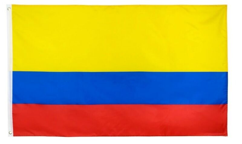 The Flag Of Colombia3 X 5 ft, Condition is BRAND NEW !