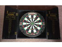 Winmau Blade 3 Dartboards and Cabinet