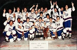 Cornwall Royals 1980 & 1981 Memorial Cup Championship Finals