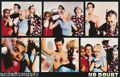 POSTER: MUSIC : NO DOUBT - MILK MONTAGE -GWEN STEFANI  FREE SHIP  #6514  RC55 Q