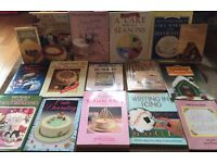 Job Lot of Cake Decorating Books - 16 in Total