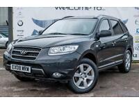 2008 HYUNDAI SANTA FE 2.2 CDX CRTD AUTOMATIC 7 SEATER GREY LEATHER TOWBAR PRIVAC