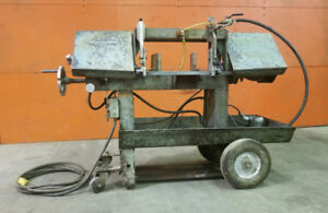 Horizontal Band Saw ,W.F. Wells A-7, For Metal Working