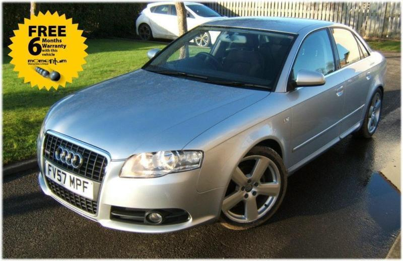 Audi A4 20 Tdi Cvt S Line Auto 2007 57 Reg With Just 53k Miles In