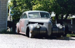 1940 LASALLE SERIES 52 COUPE PROJECT