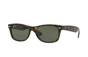 Ray Ban P's (Polarized) - Tortoise New Wayfarer, Forest Hill