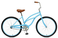 BRAND NEW - Women's Beach Cruiser 1-Speed Bike
