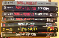 Complete series SONS OF ANARCHY - 7 DVDs 30 discs