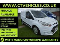 2014 64 Ford Transit Connect 1.6TDCi 75PS 200 L1 Trend THREE SEATS HIGH SPECK