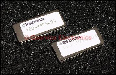 One Rom Set 2 Pcs Tektronix 160-3976-04 160-3975-04 For 2220 Oscilloscopes