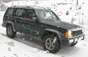 STOLEN 1996 Jeep Cherokee Classic RCMP SEARCHING