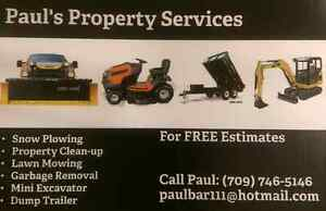 Lawn mowing/Lawn care