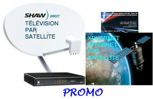 TV SHAW DIRECT ET XPLORNET  INTERNET PARTOUT